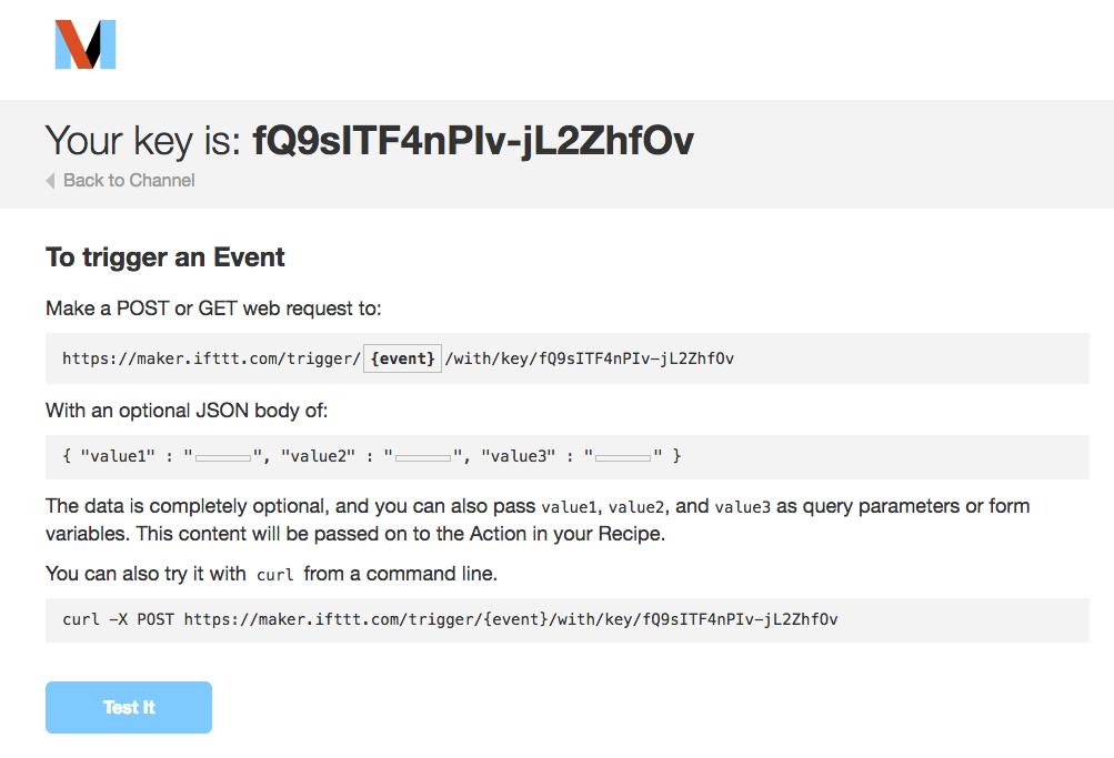 3 5 Maker イベントを起こすための情報を集める(ESP8266 で IFTTT を使っ